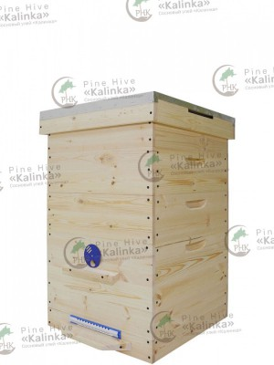 Улей Дадана-Блатта на 12 рамок 1 корпус, 2 магазина, без рамок с сетчатым дном. Цена 5500 руб. - магазин «Пчеловодство»